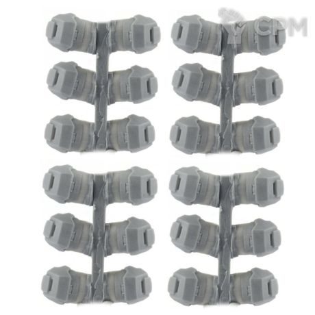 HEAVY ANGULAR SHOULDER PADS (12 PAIRS) 1