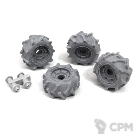 WHEELS - 19MM OFF ROAD WHEEL X 4 SPRUE 1