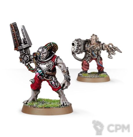 SERVITORS WITH PLASMA CANNON 1