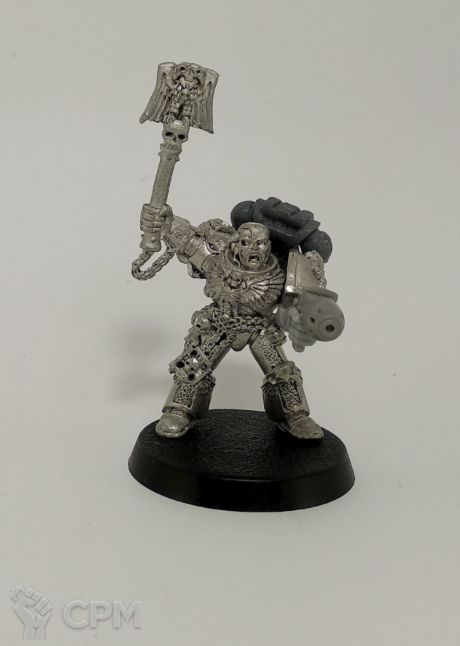 Space Marine Imperial Fists Chaplain (Collectors) 1