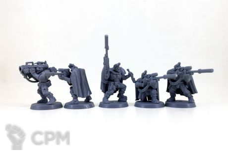 Space marines scouts with sniper rifles 1